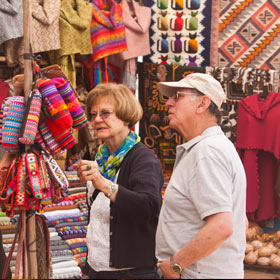 Traveler briefing in Cusco, Peru by Personalized Travel staff